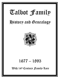 talbot family history and genealogy