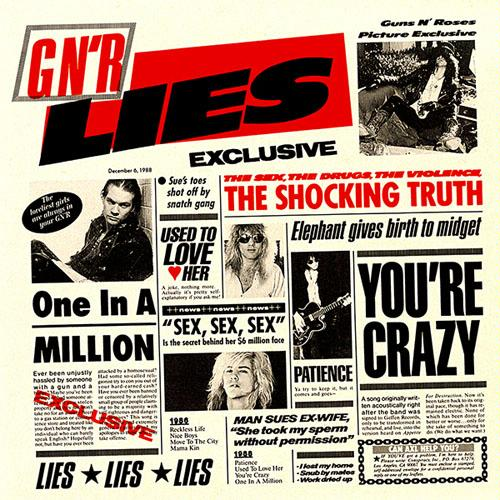 First Additional product image for - GUNS N' ROSES G N' R Lies (1988) (GEFFEN RECORDS) (8 TRACKS) 320 Kbps MP3 ALBUM