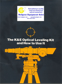 k & e optical leveling kit and how to use it