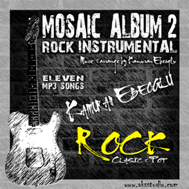 mosaic album 2 rock instrumental by kamuran ebeoglu