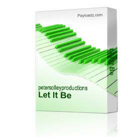Let It Be | Music | Backing tracks