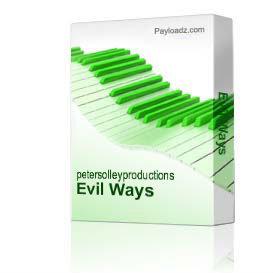 Evil Ways   Music   Backing tracks