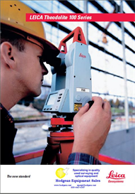 Leica Theodolite 100 Series Brochure T105/T110 | Documents and Forms | Building and Construction
