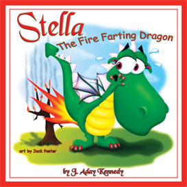 stella the fire farting dragon