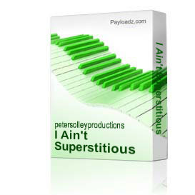 I Ain't Superstitious | Music | Backing tracks