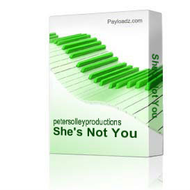 She's Not You | Music | Backing tracks