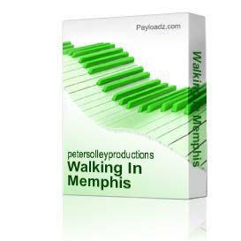 Walking In Memphis | Music | Backing tracks