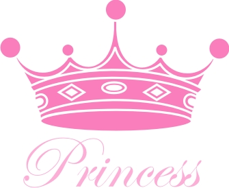 princess crown machine embroidery file crafting sewing baby
