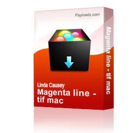 magenta line - tif mac
