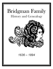 bridgman family history and genealogy