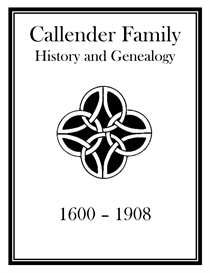 callender family history and genealogy