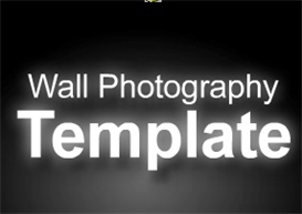 Wall Photography Template with Integrated Paypal Cart | Software | Design Templates