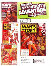 devine's guide to men's adventure magazines