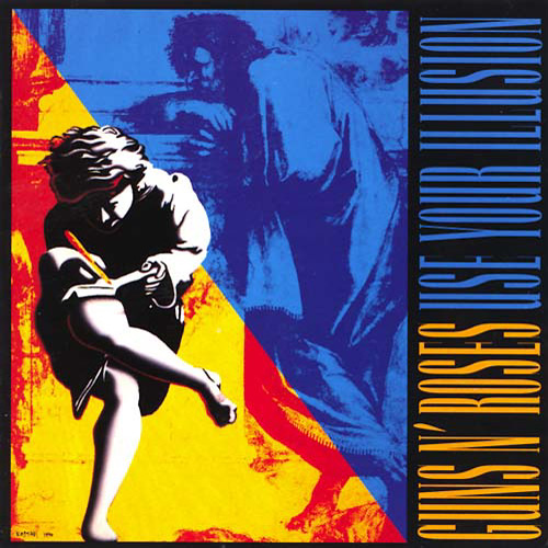 First Additional product image for - GUNS N' ROSES Use Your Illusion I & II (1991) (GEFFEN RECORDS) (30 TRACKS) 320 Kbps MP3 ALBUM