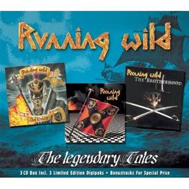 RUNNING WILD The Legendary Tales (2002) (GUN RECORDS) (IMPORT) (E.U.) (37 TRACKS) 320 Kbps MP3 ALBUM | Music | Rock