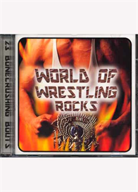 THE MAGNIFICENT TRACERS World Of Wrestling Rocks (1999) (K-TEL RECORDS) (23 TRACKS) 320 Kbps MP3 ALBUM | Music | Rock