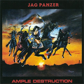 JAG PANZER Ample Destruction (1984) (NO POSER RECORDS) (4 EP BONUS TRACKS) 320 Kbps MP3 ALBUM | Music | Rock