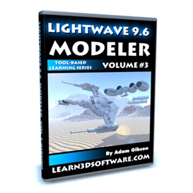 lightwave 9.6 modeler-vol.#3