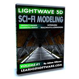 Lightwave 3D-Sci-Fi Modeling (Volume #1)-Interiors: Hallways & Corridors | Movies and Videos | Educational