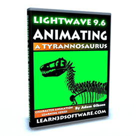 Lightwave 3D 9.6 Animating a Tyrannosaurus | Movies and Videos | Educational