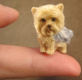 miniature yorkshire terrier sculpting tutorial by aleah klay