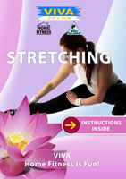 viva fit n fun stretching be supple and fit through stretch exercises dvd global