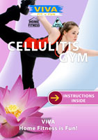 viva fit n fun cellulitis-gym health and beauty exercises dvd global television