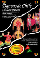 danzas de chile - chilean dances - dvd - videostar