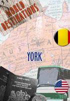 world destinations york dvd video house international