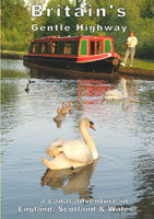 britaings gentle highway, dvd, a canal adventure in england, scotland and wales,