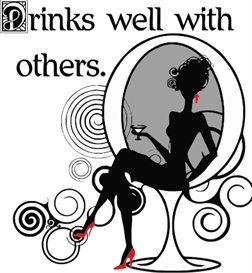 drinks well with others-lady