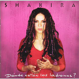shakira donde estan los ladrones? (1998) (sony music entertainment) (11 tracks) 320 kbps mp3 album