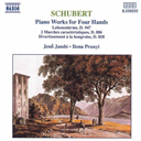 SCHUBERT Piano Works For Four Hands (1992) (NAXOS RECORDS) (GERMANY) (6 TRACKS) 320 Kbps MP3 ALBUM | Music | Classical