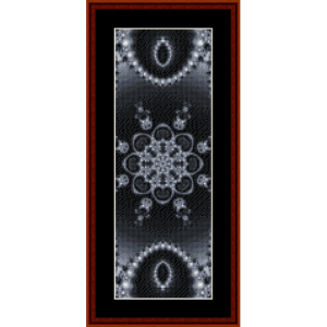 Fractal 302 Bookmark cross stitch pattern by Cross Stitch Collectibles | Crafting | Cross-Stitch | Other