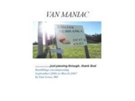Van Maniac | eBooks | Humor
