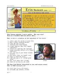 erin brockovich,  whole-movie english (esl) lesson