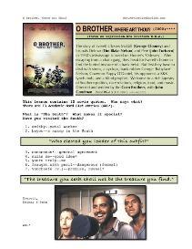 o brother, where art thou?, whole-movie english (esl) lesson