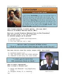 shawshank redemption, whole-movie english (esl) lesson