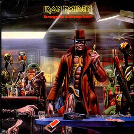 IRON MAIDEN Stranger In A Strange Land (1986) (EMI RECORDS) (3 TRACKS) 320 Kbps MP3 SINGLE | Music | Rock