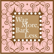 wag More Bark Less machine embroidery file | Crafting | Sewing | Gifts