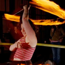 Poi Fire Dancing Lesson: 4 Beat Corkscrew | Movies and Videos | Educational