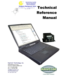 navcom technical reference manual