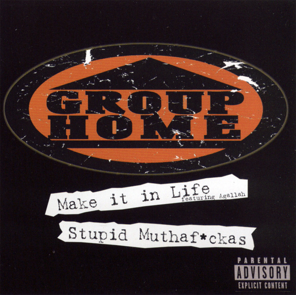 First Additional product image for - GROUP HOME Make It In Life & Stupid Muthaf-ckas (1999) (REPLAY RECORDS) (6 TRACKS) 320 Kbps MP3 SINGLE