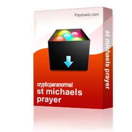st michaels prayer   Other Files   Everything Else