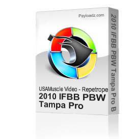 2010 IFBB PBW Tampa Pro Bodybuilding Championships Men's Prejudging (Full Program) | Movies and Videos | Fitness