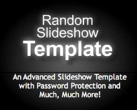 Advanced Slideshow Template with Password Protection | Software | Design Templates