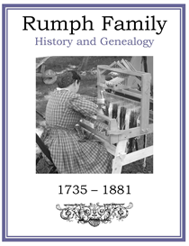 rumph family history and genealogy