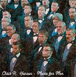 o worship the king from chris r. hansen's music for men - men's choral arrangements cd