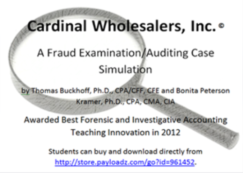First Additional product image for - Cardinal Wholesalers, Inc.: A Fraud Examination/Auditing Case Simulation