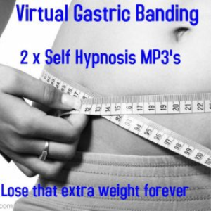 weight loss gastric banding hypnosis 2 x mp3